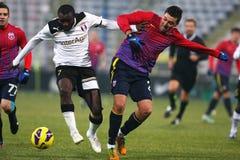FC Steaua Bucharest- FC Astra Giurgiu Royalty Free Stock Photos