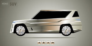 Fwd luksusu samochód Fotografia Stock