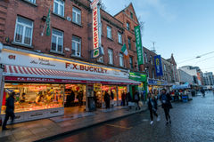 FX Buckley butcher shop in Dublin, Stock Photo