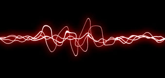 fx lines red Arkivbild