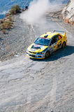 Fx Pro Cyprus Rally. Love Cyprus Stage. 2010 Stock Image