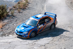 Fx Pro Cyprus Rally. Love Cyprus Stage. 2010 Stock Photo