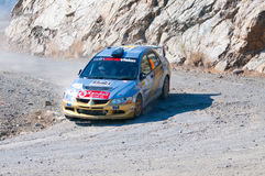 Fx Pro Cyprus Rally. Love Cyprus Stage. 2010 Royalty Free Stock Photography