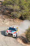 Fx Pro Cyprus Rally. Love Cyprus Stage. 2010 Stock Photography