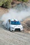 Fx Pro Cyprus Rally. Love Cyprus Stage. 2010 Stock Photos