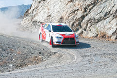 Fx Pro Cyprus Rally. Love Cyprus Stage. 2010 Royalty Free Stock Images
