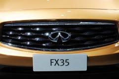 fx35 infiniti徽标 库存照片