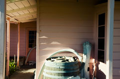 Fyffe dom Kaikoura, Nowa Zelandia - Obraz Royalty Free