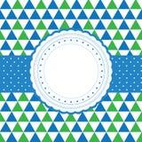 fyll på kan card text för mallen för lyckönskanhälsningsstolpen dig som är din Royaltyfri Bild