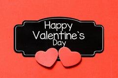 fylla på valentinen för text för kortdag den lyckliga perfekta s Arkivfoto