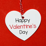 fylla på valentinen för text för kortdag den lyckliga perfekta s Arkivfoton