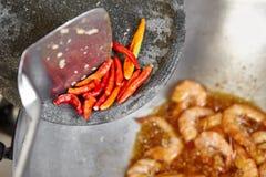 fylla på kryddor Arkivfoto