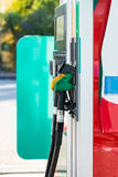 fyllande petrolstation Royaltyfria Bilder