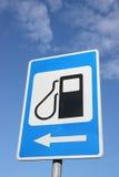 fyllande petrolteckenstation Royaltyfri Fotografi