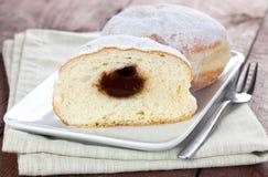 fyllda donuts Royaltyfria Bilder