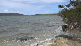 Fyller på med bränsle nationalparken, västra Australien stock video
