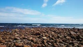 Fyller på med bränsle strandsikt Royaltyfri Bild