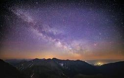Fyllt med stjärnor Arkivbild