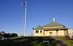 fyr 1875 för stuga för Australien byggnad c Arkivbild