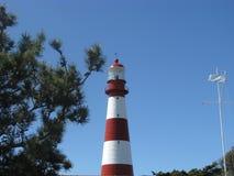 Fyr av Mar del Plata Arkivbild