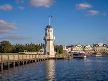 Fyr för Disney yachtklubba Arkivfoton