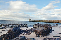 Fyr i Aberdeen Fotografering för Bildbyråer