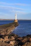 Fyr i Aberdeen, Skottland Royaltyfria Foton