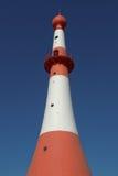 Fyr i Bremerhaven, Tyskland Arkivbild
