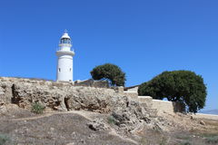 Fyr i Cypern Royaltyfri Foto