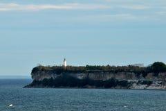 Fyr i det baltiska havet arkivbild