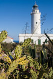 Fyr i Formentera, Spanien royaltyfri foto