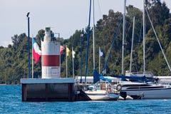 Fyr i Puerto Varas Royaltyfri Fotografi