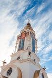 Fyr på den Crimean kusten Royaltyfria Bilder