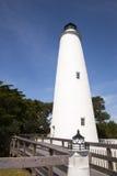 Fyr på den Ocracoke ön Royaltyfri Bild