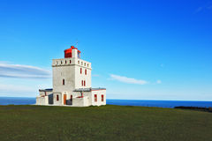 Fyr på Island Fotografering för Bildbyråer