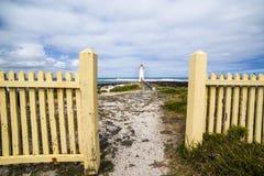 Fyr på vägen melbourne Australien för hav för Griffiths öport den felika stora Royaltyfria Foton