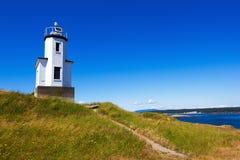 San Juan öar i staten Washington Arkivbild
