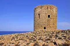Fyr Sardinia Arkivfoton