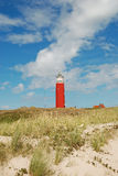 Fyr Texel Royaltyfri Fotografi