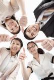 Fyra affärsfolk Royaltyfri Fotografi