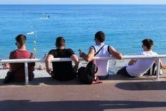Fyra av strandpatrullen Royaltyfri Foto