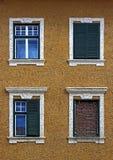 fyra fönster Royaltyfri Foto
