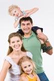 fyra folk Royaltyfri Fotografi