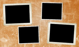 Fyra gamla ramar Arkivfoton
