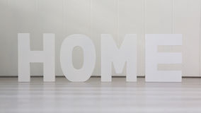 Fyra hem- bokstäver - Fotografering för Bildbyråer