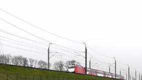 FYRA-Hochgeschwindigkeitszug stock video footage