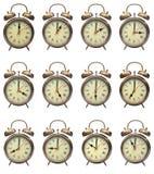 fyra klockan Arkivbild