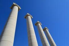 Fyra kolonner Arkivbild