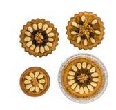 Fyra lilla traditionella polska påskkakor Royaltyfri Bild