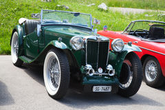 fyra mg morgan plus Royaltyfria Foton